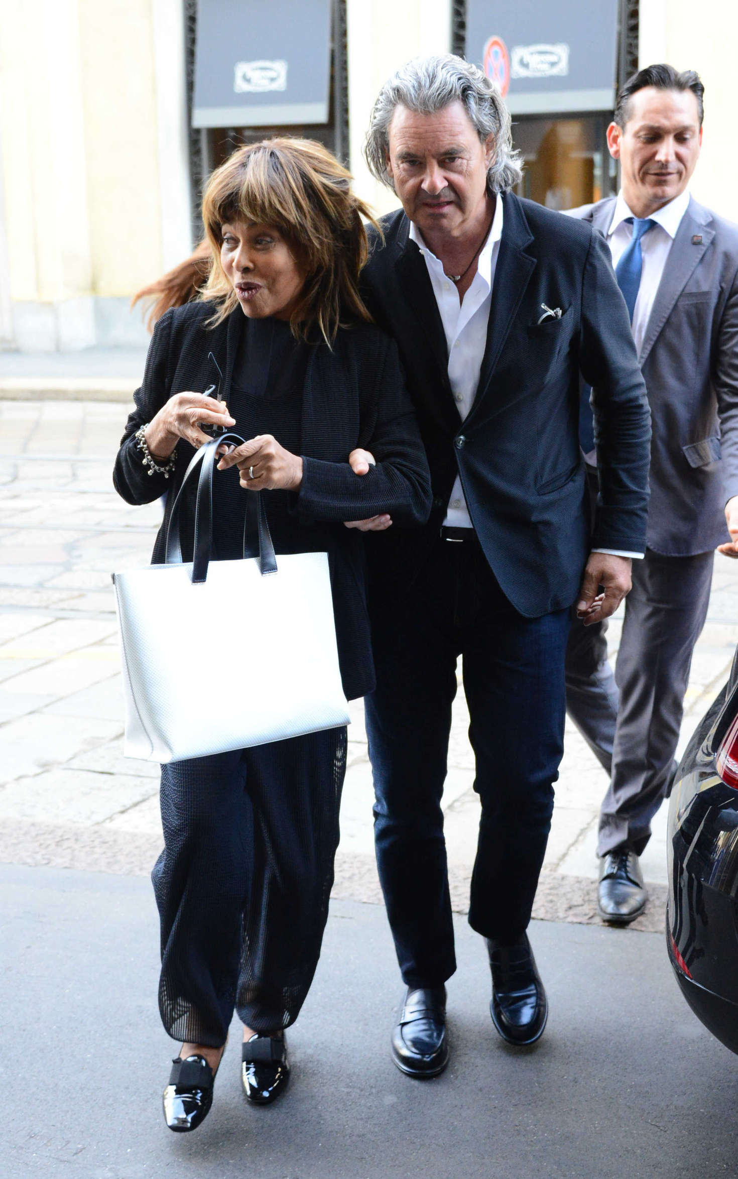 Tina Turner With Her Husband Erwin Bach On Holiday In Italy