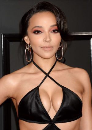 Tinashe - 59th GRAMMY Awards in Los Angele
