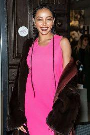 Tinashe at Helmut Lang Presentation and Libertine Fashion Show in NY