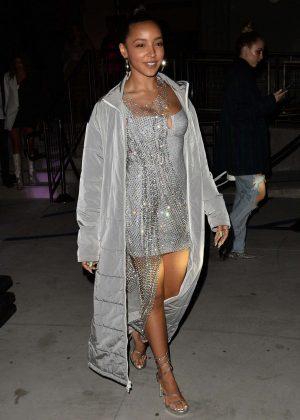 Tinashe - Attends the PowerPuff Girls Fashion Show in LA