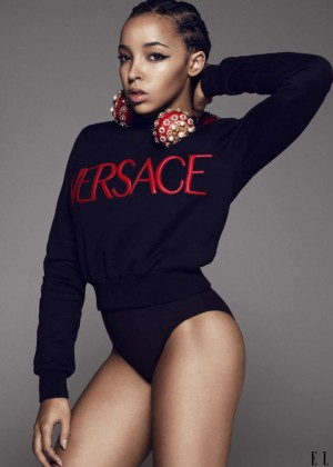 Tinashe - ELLE US Magazine (June 2015)