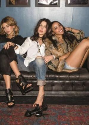 Tinashe, Hailey and Bella - Denim & Supply Ralph Lauren Fall/Winter 2015
