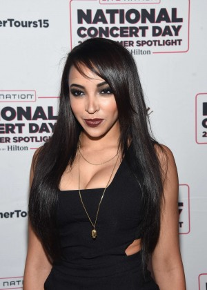 Tinashe - Live Nation's National Concert Day in New York