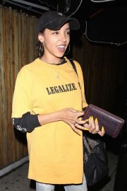 Tinashe - Night out in Los Angeles