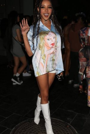 Tinashe - Seen at a party at The Highlight Room in Los Angeles