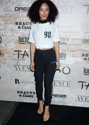 Tinashe - TAO Group LA Grand Opening Block Party in Hollywood