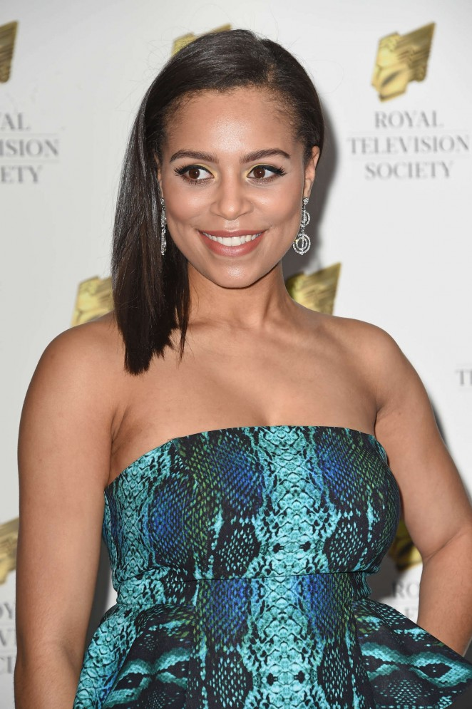 Tisha Merry - Royal Television Society Programme Awards 2015 in London