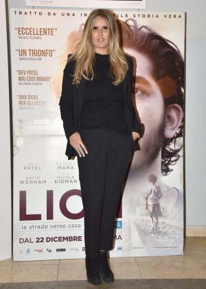 Tiziana Rocca - 'Lion' Screening in Rome