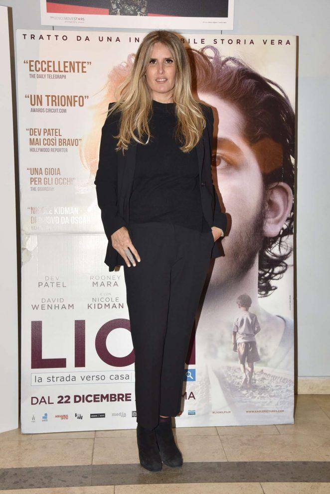 Tiziana Rocca – 'Lion' Screening in Rome