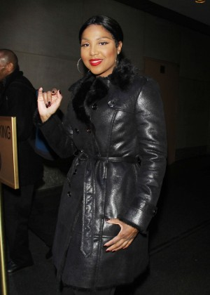 Toni Braxton - NBC's Today Show in New York