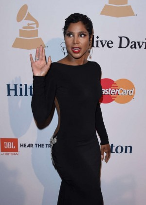 Toni Braxton - Pre-GRAMMY Gala and Salute To Industry Icons in Los Angeles