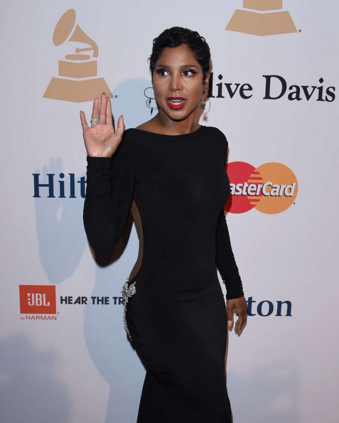 Toni Braxton – Pre-GRAMMY Gala and Salute To Industry Icons in Los Angeles