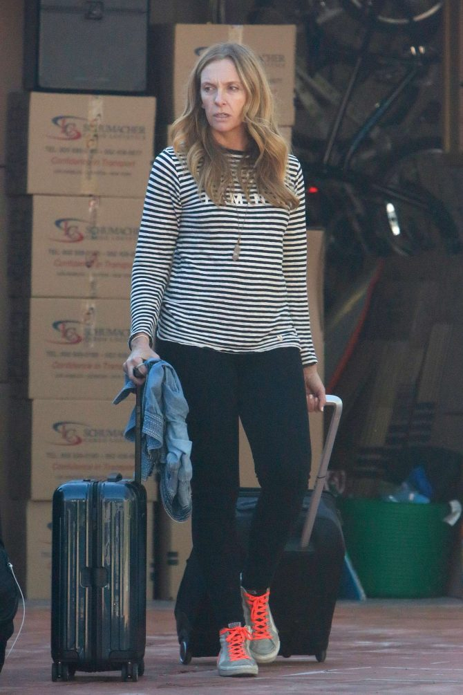 Toni Collette - Out in Los Angeles