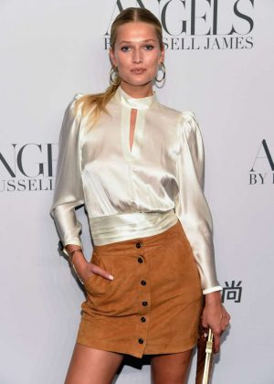 Toni Garrn - 'ANGELS' by Russell James Book Launch and Exhibit in NY