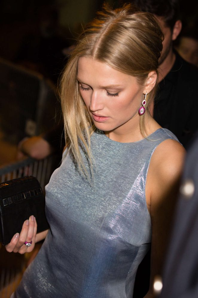 Toni Garrn - Arrives at Chopard Party at 2016 Cannes Film Festival