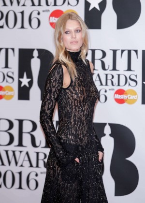 Toni Garrn - BRIT Awards 2016 in London