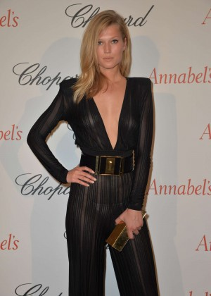 Toni Garrn - Chopard Annabel's in Cannes party in Cannes