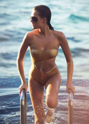 Toni Garrn - Elle Magazine (June 2016)