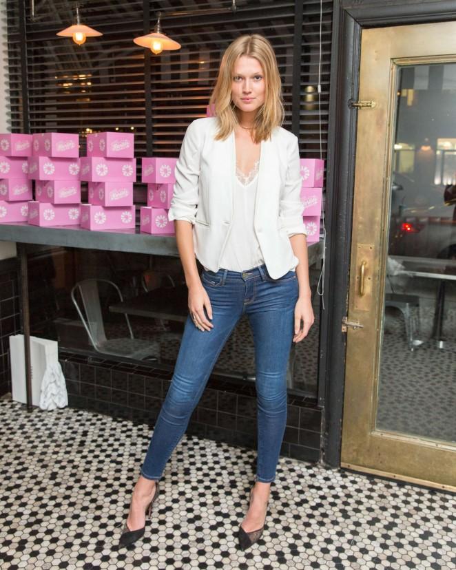 Toni Garrn – Frame Denim presents 'Karlie's Diner' in New York