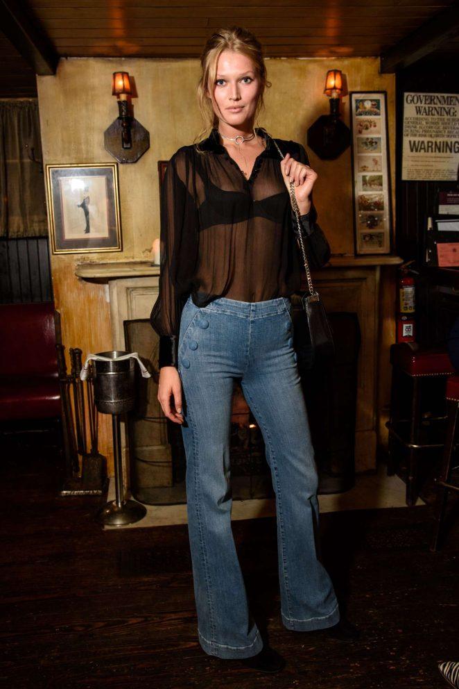 Toni Garrn - FRAME Dinner SS 2017 NYFW in NYC