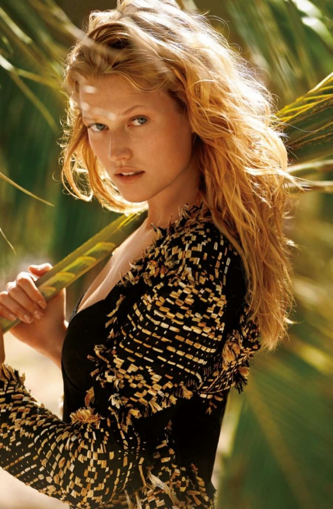 Toni Garrn - The Daily Summer Magazine (May/June 2015)