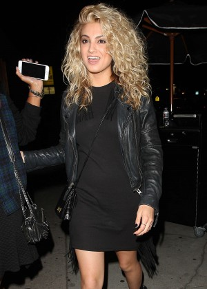 Tori Kelly in Mini Dress at The Nice Guy in West Hollywood