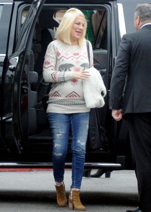 Tori Spelling heading to Universal Studios in LA