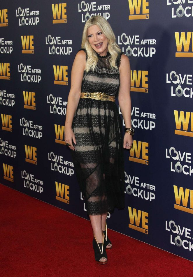 Tori Spelling - 'Love After Lockup' Panel in Beverly Hills