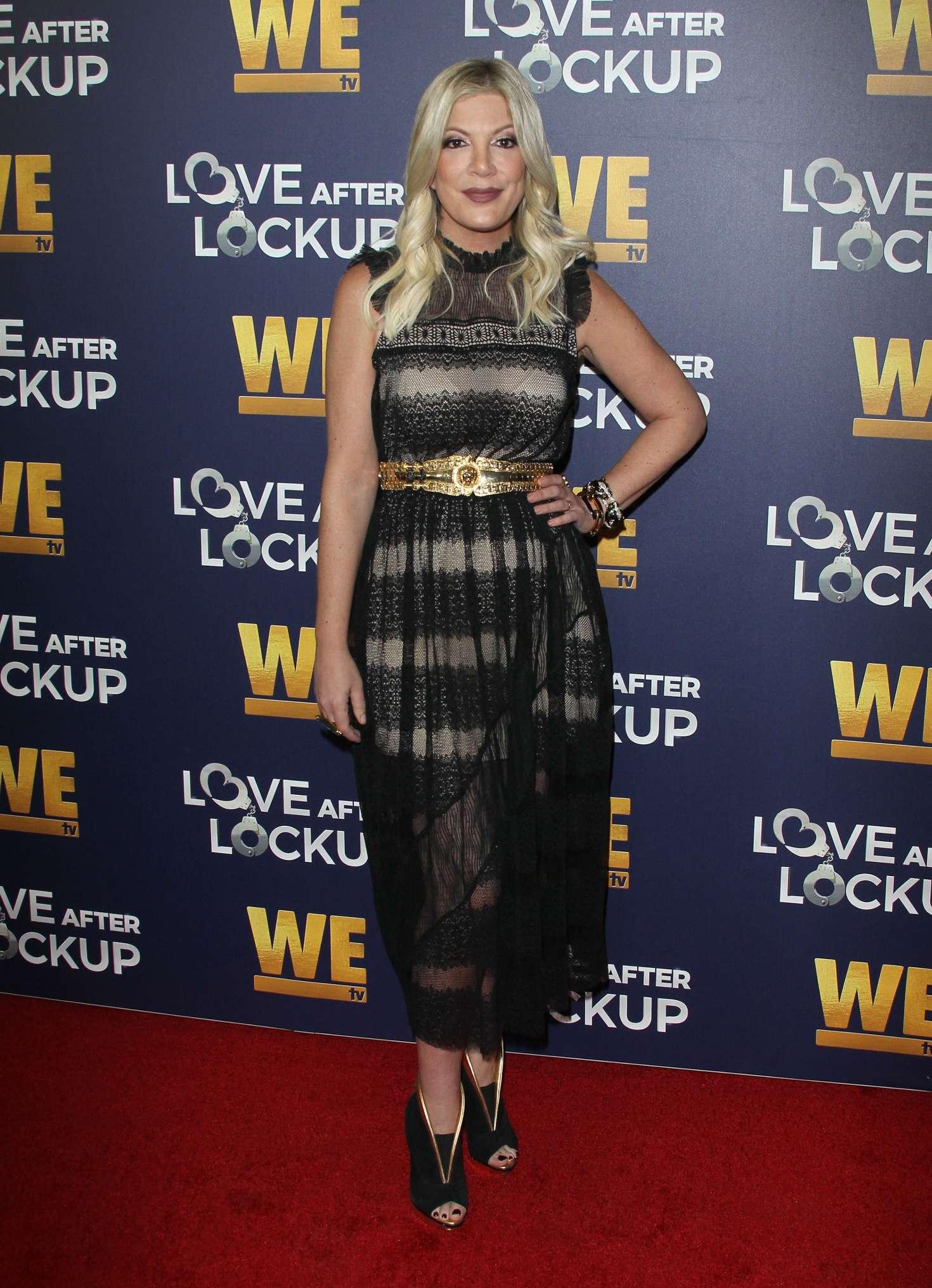 Tori Spelling 2018 : Tori Spelling: Love After Lockup Panel -08