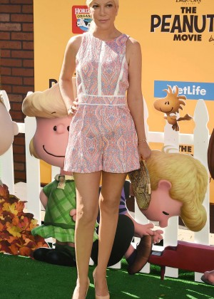 Tori Spelling - 'The Peanuts Movie' Premiere in Los Angeles