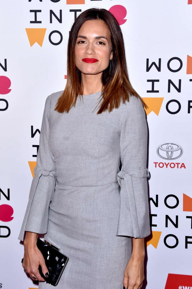 Torrey DeVitto - 2018 Women in the World Summit in New York