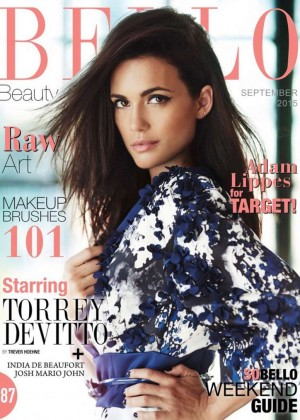 Torrey DeVitto - Bello Magazine Cover (September 2015)