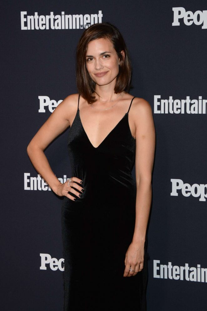 Torrey DeVitto - Entertainment Weekly and People Magazine Upfront Party in New York