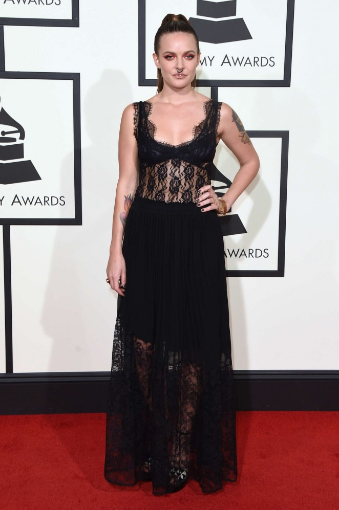Tove Lo - 2016 GRAMMY Awards in Los Angeles