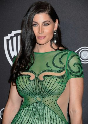 Trace Lysette - 2017 InStyle and Warner Bros Golden Globes After Party in LA