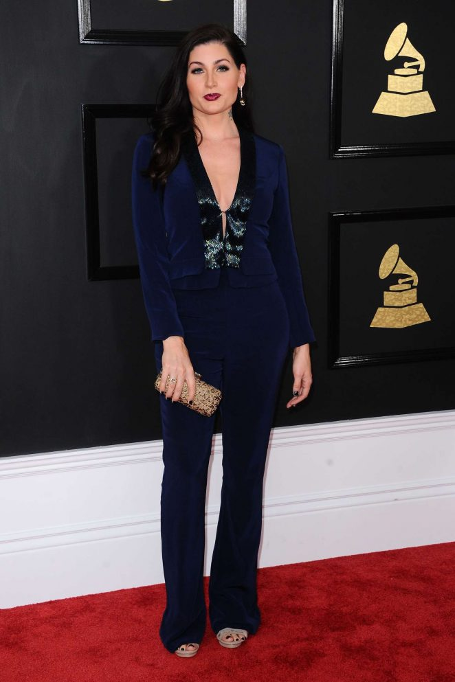 Trace Lysette - 59th GRAMMY Awards in Los Angeles