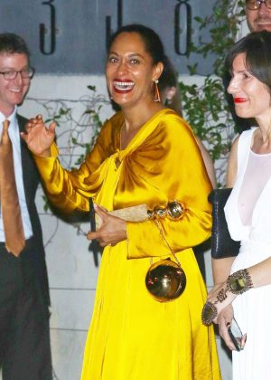 Tracee Ellis Ross at the Golden Glopbes After Party in LA