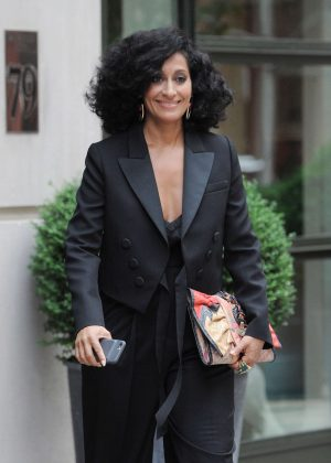 Tracee Ellis Ross out in Soho