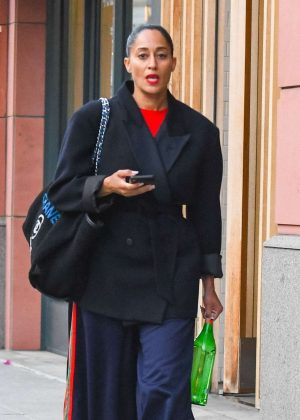 Tracee Ross - Out in Beverly Hills