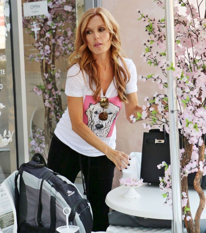 Tracey E Bregman Shopping in Beverly Hills