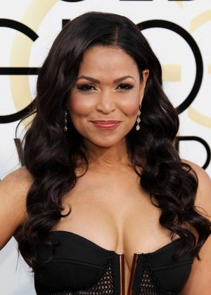 Tracey E. Edmonds - 74th Annual Golden Globe Awards in Beverly Hills