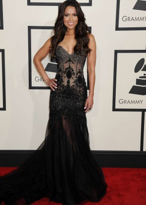Tracey Edmonds - GRAMMY Awards 2015 in Los Angeles