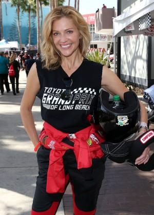 Tricia Helfer - 2015 Toyota Pro/Celebrity Race in Long Beach