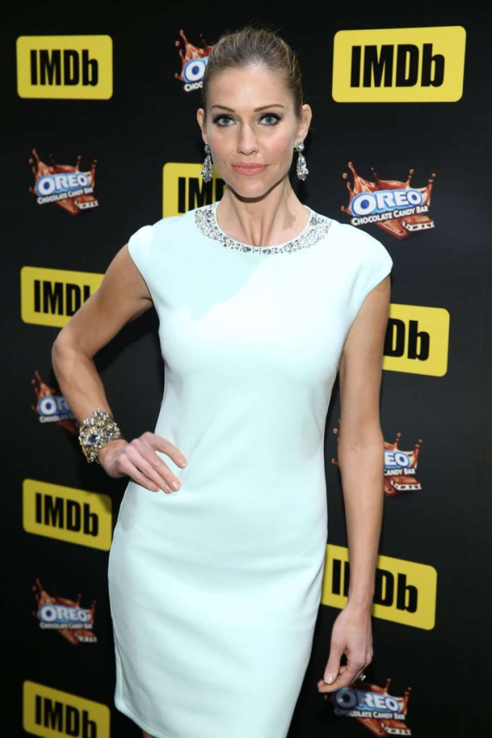 Tricia Helfer - IMDb LIVE Viewing Party 2017 in Hollywood