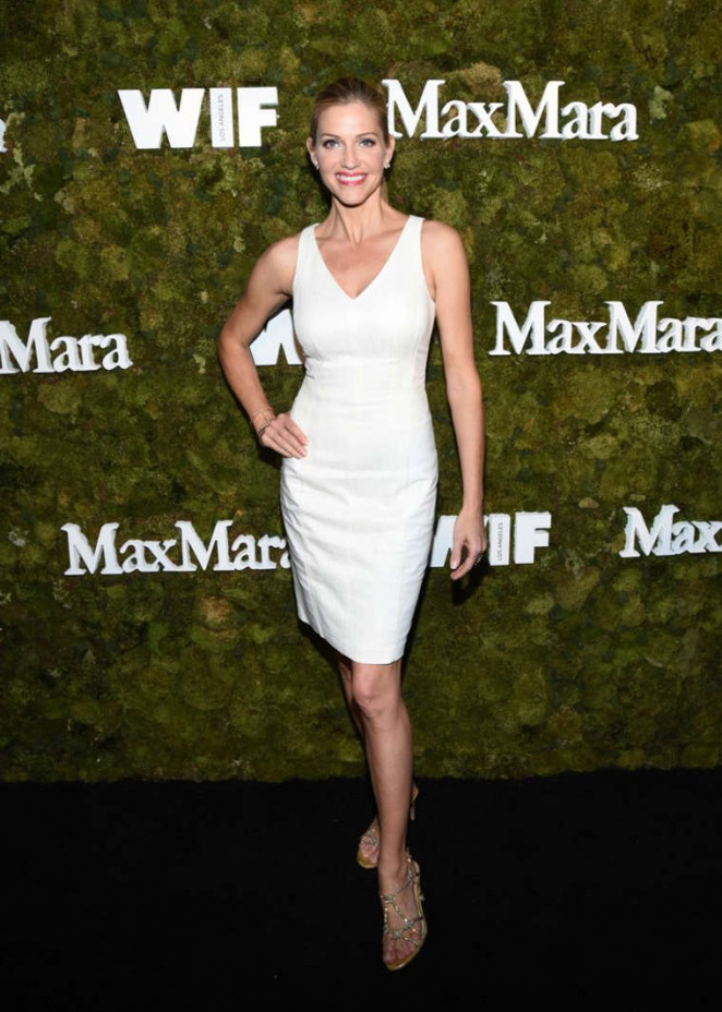 Tricia Helfer - Max Mara Women In Film Face Of The Future Award Event 2015 in West Hollywood
