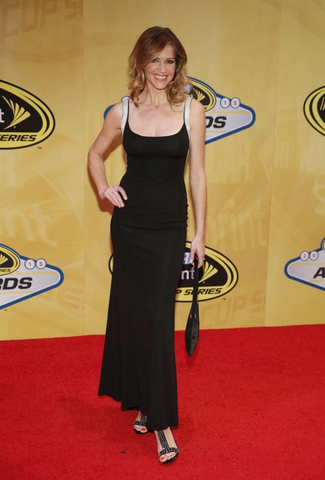 Tricia Helfer - NASCAR Sprint Cup Series Auto Racing Awards in Las Vegas