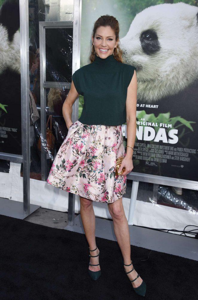 Tricia Helfer - 'Pandas' Premiere in Los Angeles