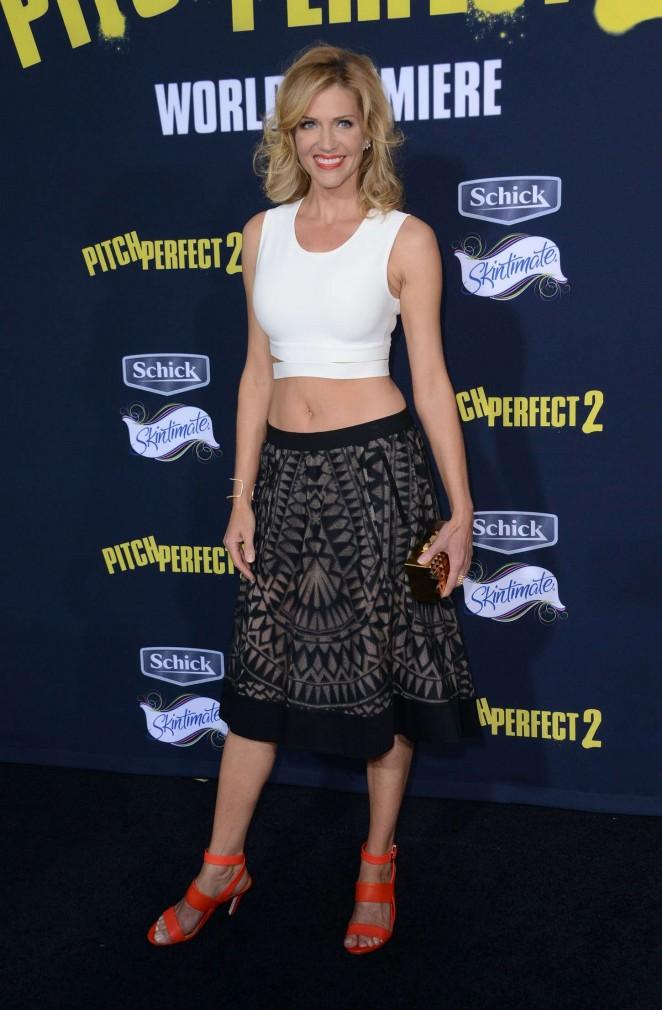 Tricia Helfer - 'Pitch Perfect 2' Premiere in LA