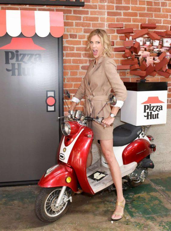 Tricia Helfer - Pizza Hut Lounge at 2019 Comic-Con International: San Diego
