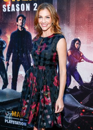 Tricia Helfer - 'Powers' Premiere in Culver City